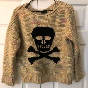 Top shop skull sweater